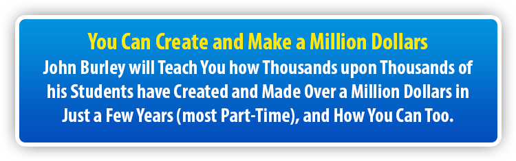 You Can Create and Make a Million Dollars